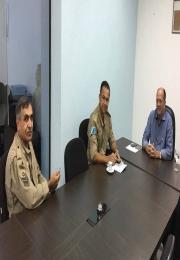 Reunião com representantes do 4ºGBM