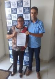 Ganhadora do 2º Prêmio da Campanha das Mães da Associação Comercial e Empresarial de Ponta Porã(ACEPP)