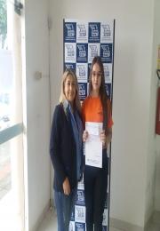 Ganhadora do 4º Prêmio da campanha das mães da Associação Comercial e Empresarial de Ponta Porã(ACEPP)
