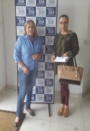 Ganhadora do 7º Prêmio da campanha das mães da Associação Comercial e Empresarial de Ponta Porã(ACEPP)