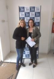 Ganhadora do 3º Prêmio da campanha das mães da Associação Comercial e Empresarial de Ponta Porã(ACEPP)