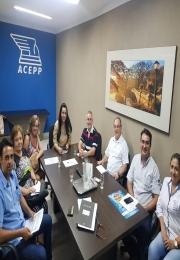 A Associação Comercial e Empresarial de Ponta Porã se Reuniu com a Diretoria  nesta Terça