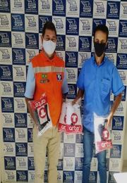 ACEPP distribui 2 mil máscaras de proteção para entidades assistenciais e pessoas carentes