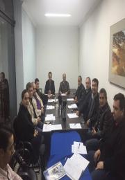 DIRETORIA ADMINISTRATIVA REALIZA REUNIÃO PARA DEFINIÇÃO DE PROJETOS E CAMPANHAS PROMOCIONAIS