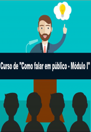 CURSO DE COMO FALAR EM PÚBLICO
